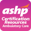 Ambulatory Care Pharmacy Specialty Review Course, Workbook Chapters, and PRACTICE EXAM (No Recert Credit (Cert # L209099)